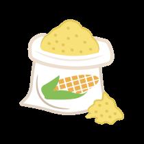 Mouka kukuřičná polohrubá