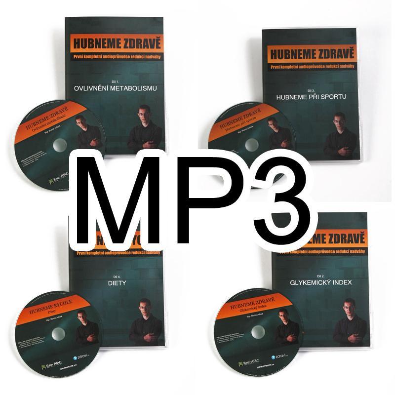 Výukové MP3 nahrávky - sada 4ks