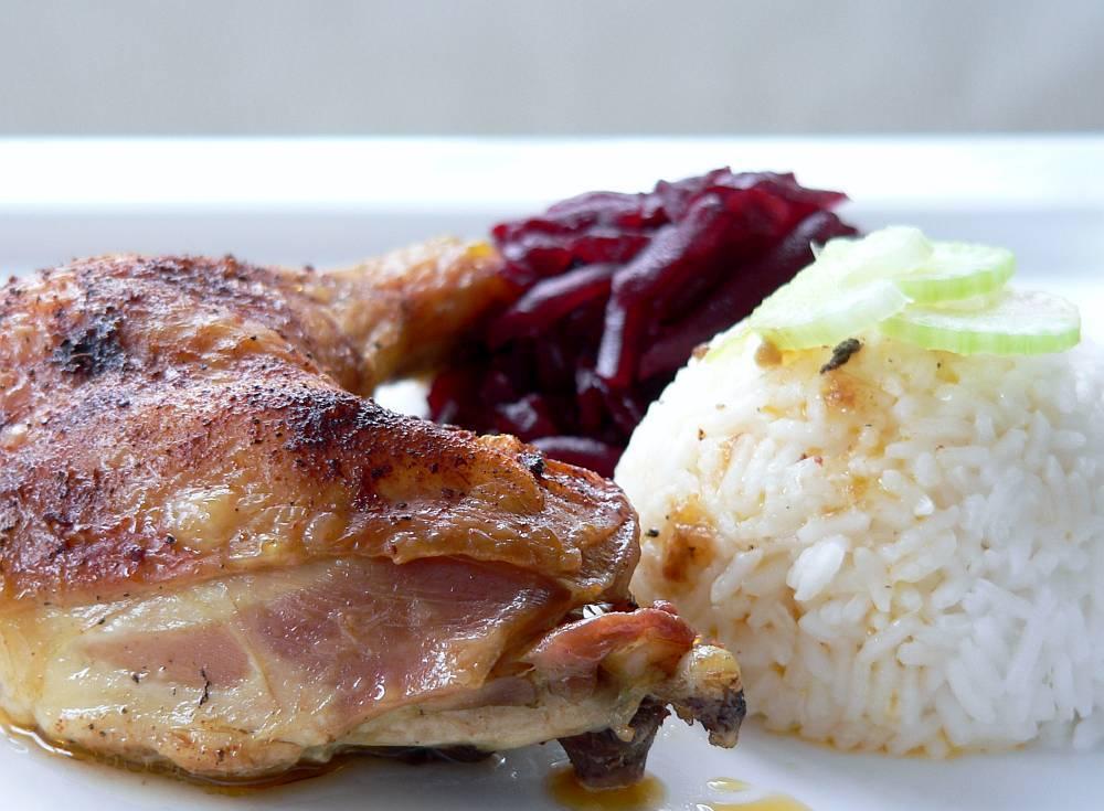 Kuře srýží