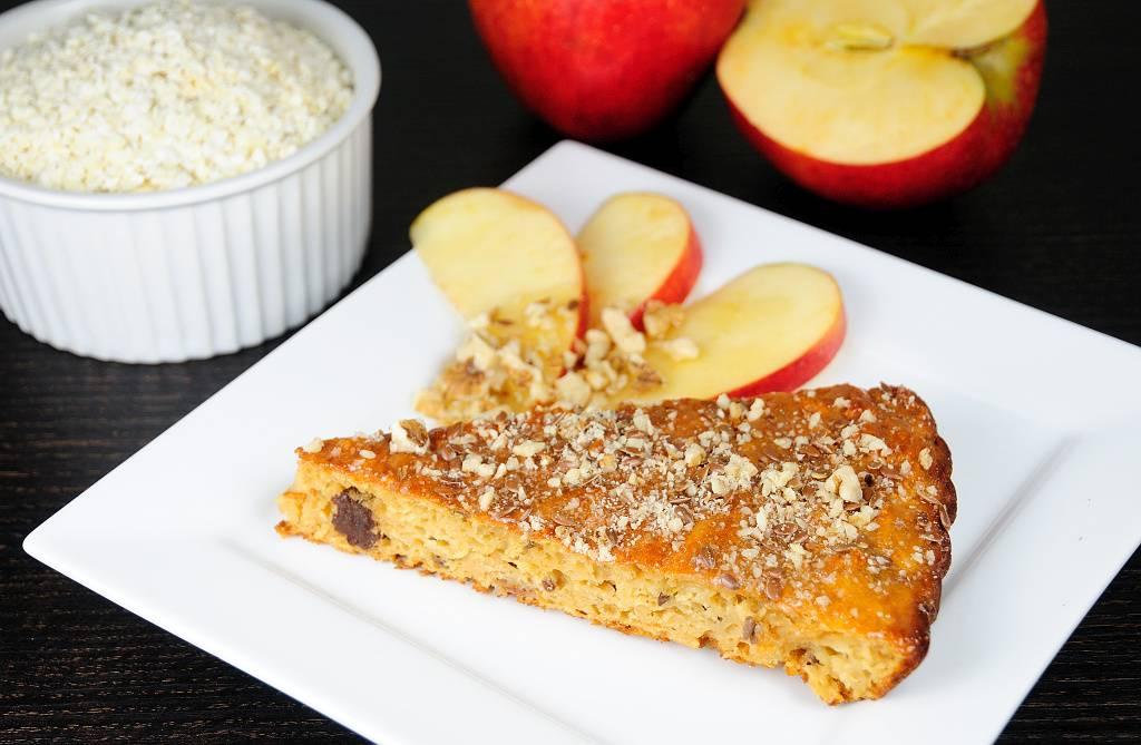 Bezlepkový jablečný koláč