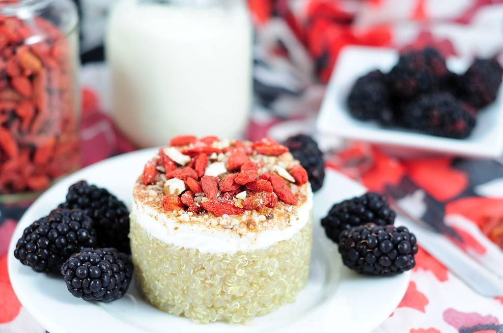 Quinoa dessert