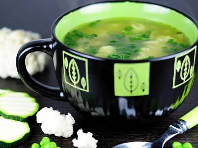 Květáková polévka