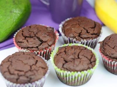 Bezlepkové brownies muffiny