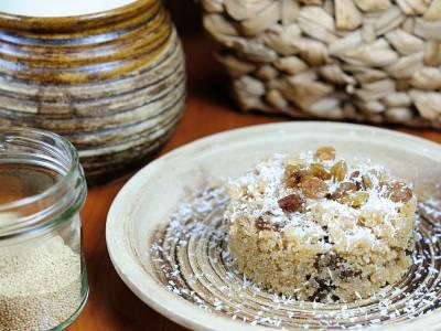 Amarantový porridge