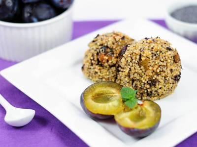 Maková quinoa
