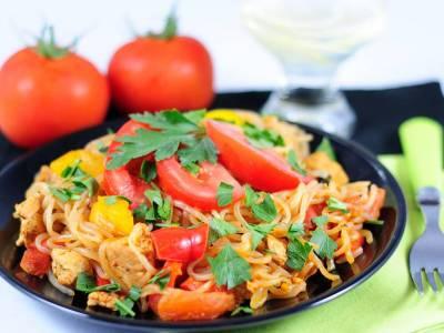 Konjakové špagety