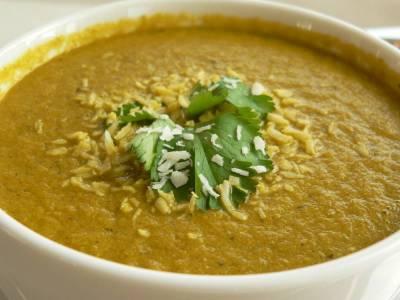 Mrkvová polévka s mátou